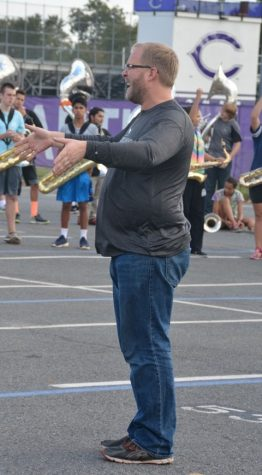Marching band offers a unique performing experience for student musicians