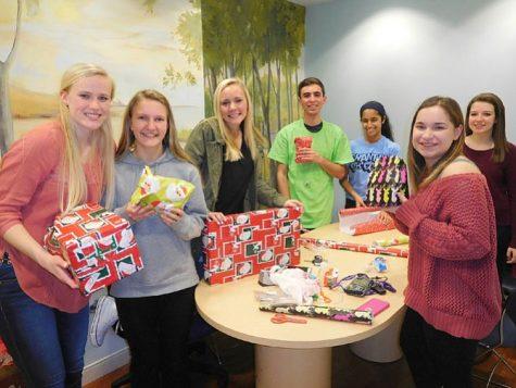 Students bring holiday spirit to homeless children at Katherine Hanley Shelter