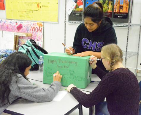 Leadership students excel behind the scenes