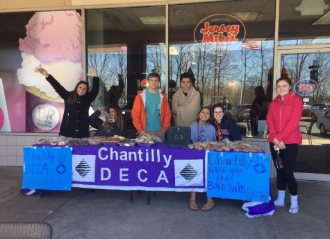 Clubs and organizations raise money for various purposes
