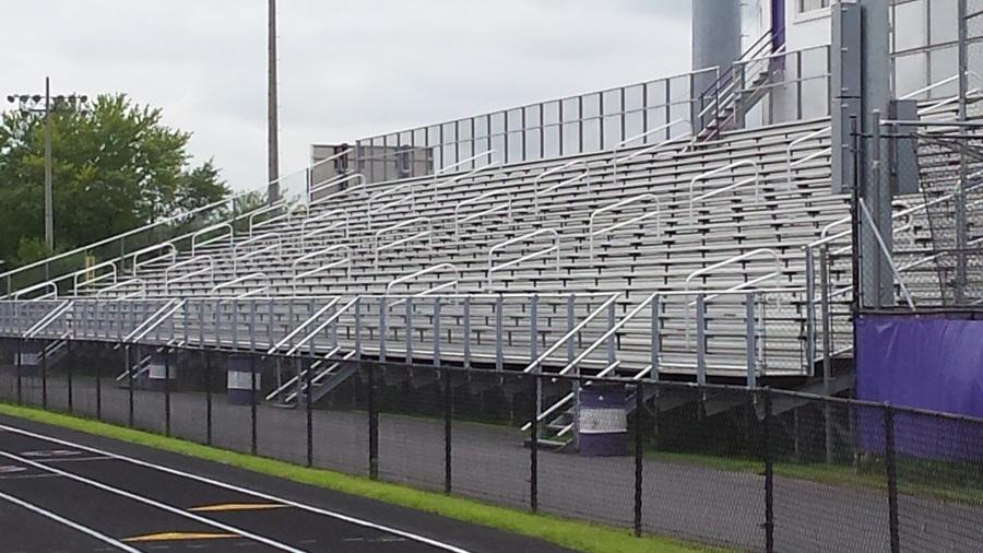 The bleachers are itching to be used for the first time this season.