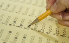 Sophomores and juniors take PSAT/NMSQT test