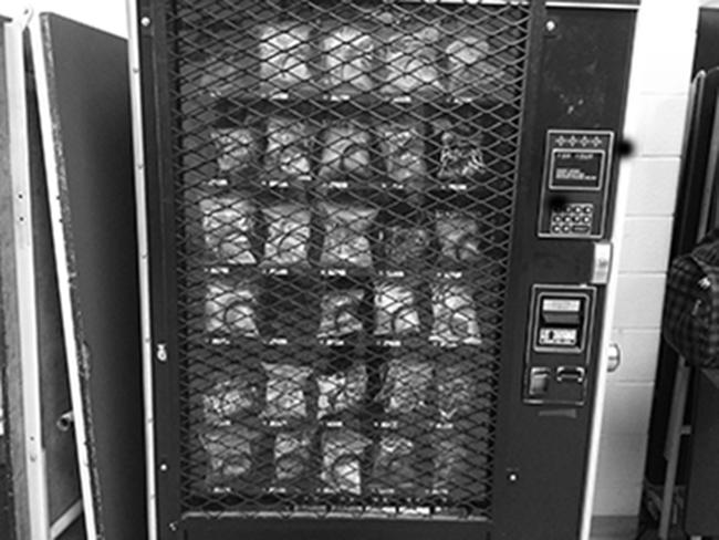 Healthy food options have taken over vending machines