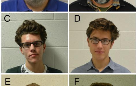 Chantilly look-alikes: A) Michael Murphy B) Ross Bosse C) Chad Call D) Aron Malatinszky E) Corey Porter F) Joey Cronin