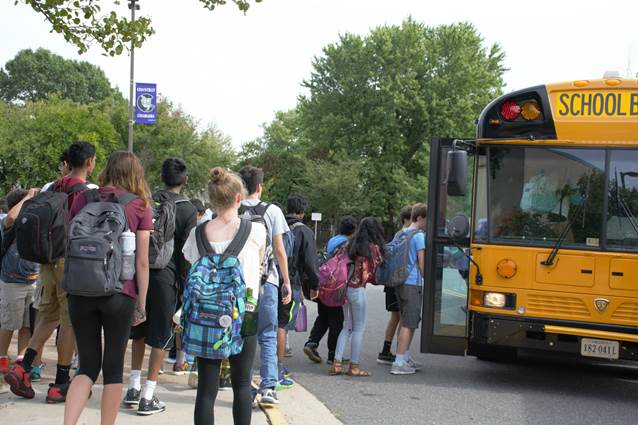 Growing numbers of students are attending Chantilly High School.