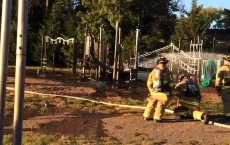 Arson in local playgrounds shocks community