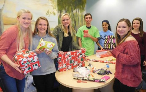 Students bring holiday spirit to homeless children at Katherine Hanley Shelter