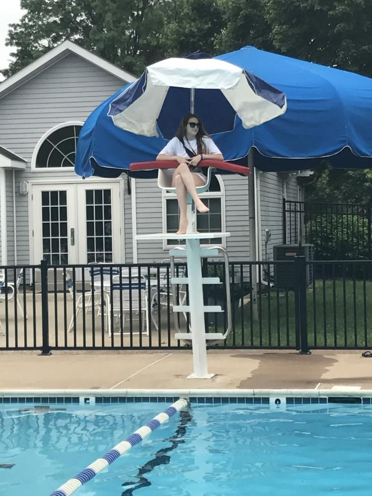 Lifeguarding provides fun summer job