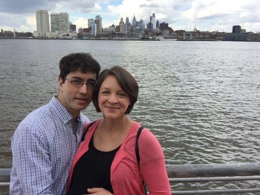 Eric Richardson and his wife visited the Camden Aquarium in Philadelphia during his hiatus last year.
