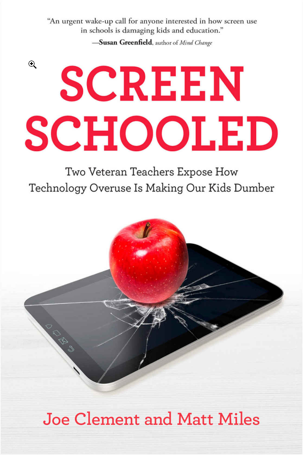 Social studies teachers publish a book about effects of technology overuse in education