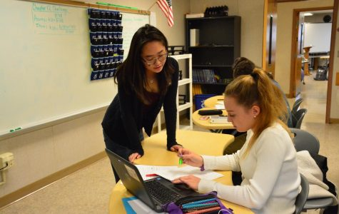Students join together in honors societies and clubs to help others