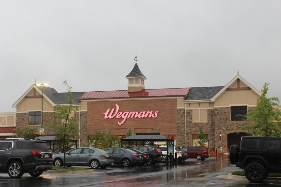Wegmans is one of the many shopping and dining options at The Field at Commonwealth.