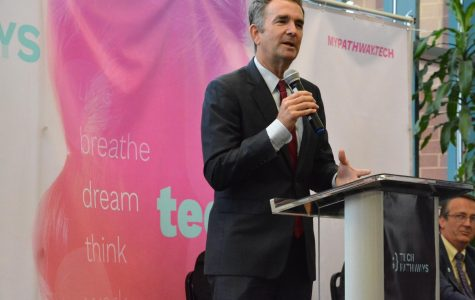 Governor Ralph Northam visits to promote tech jobs for youths