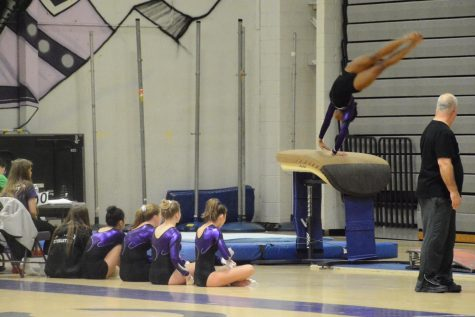Varsity gymnastics flips its way through a great season