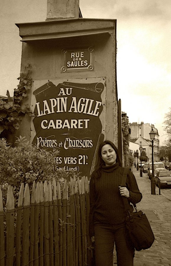 Gonzalez visits Montmartre, a historic district in Paris, during her birthday weekend while living in France. Gonzalez incorporates her real-world experiences in her everyday classroom.