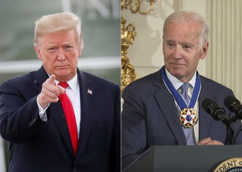 President Donald Trump and former Vice President Joe Biden are both running for president.