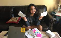 Chantilly Amnesty International member Yatra Karki sends solidarity messages written by club members on October 2nd.