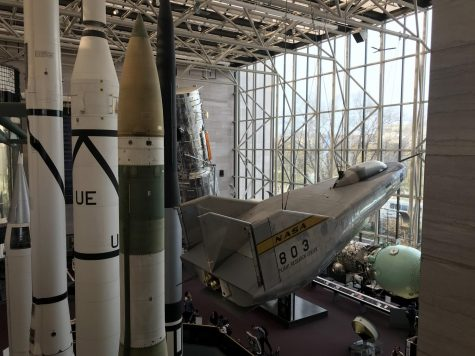 The Smithsonian Air and Space Museum in D.C. has rovers, rockets and space capsules on display.