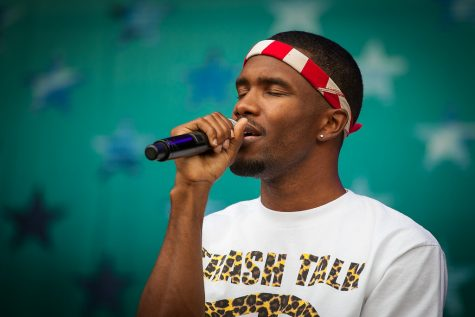 Frank Ocean performs at the Oyafestivalen in Oslo, Norway in 2012.