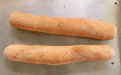 Senior Diya Khilnani bakes her own bread including French baguettes.