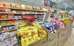 Many students buy Asian snacks that can be found in stores such as Lotte or H Mart.