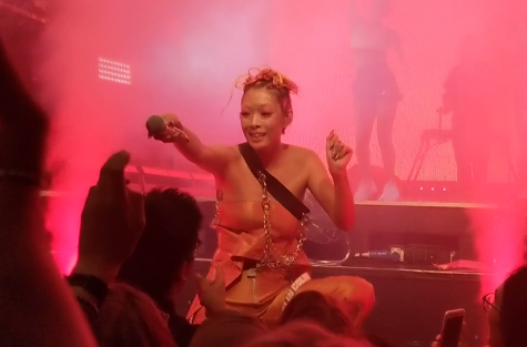 Rina Sawayama performs in London in 2018. Sawayama is a well-known LGBTQ artist.
