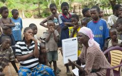Citizens of the Democratic Republic of Congo are fighting against epidemics and malnutrition.