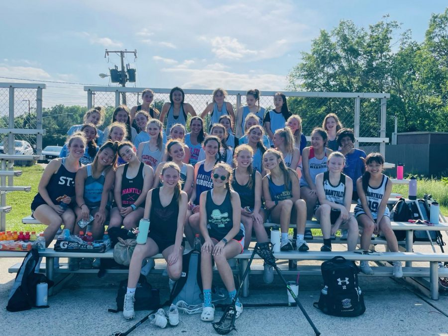 The girls lacrosse team completed a shortened schedule due to COVID-19.
