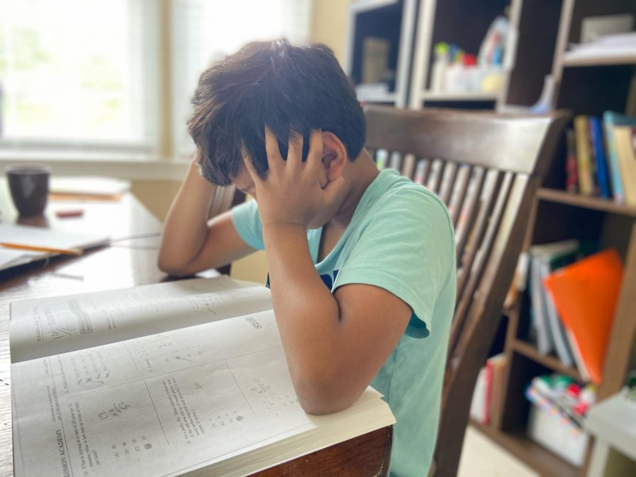 Many students will often feel frustrated while taking standardized tests.