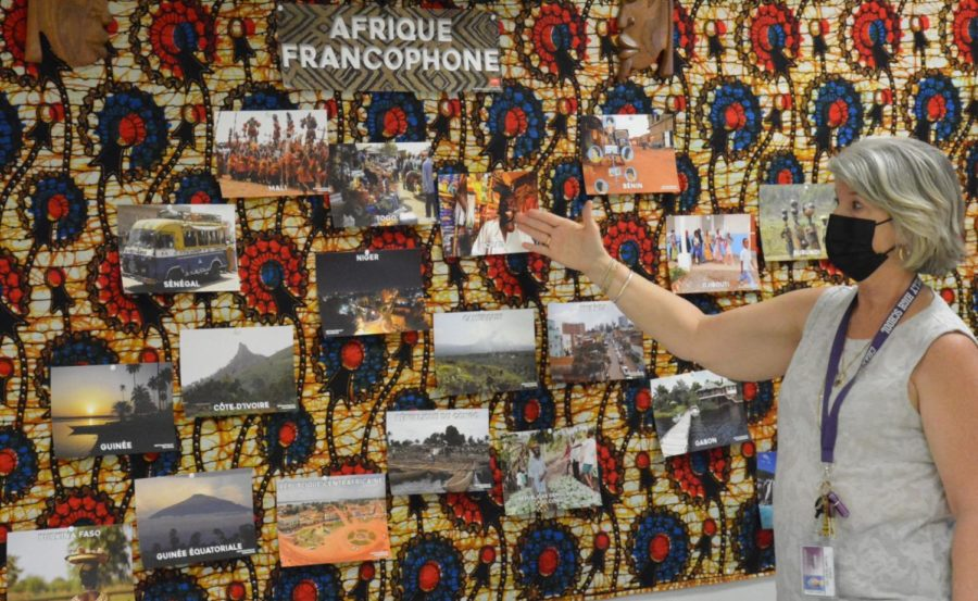 French teacher JoEllen Delamatta discusses African tribes that shes encountered on her travels.